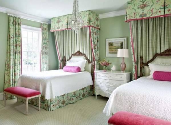 дизайн интерьера детской комнаты для двух девочек, фото 3