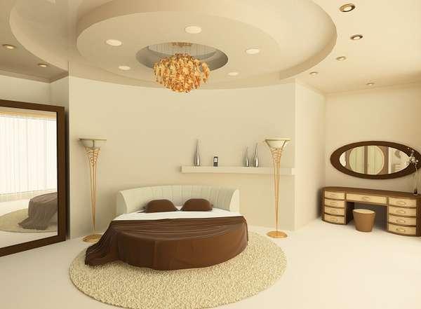 двухуровневые потолки из гипсокартона с подсветкой фото, фото 5