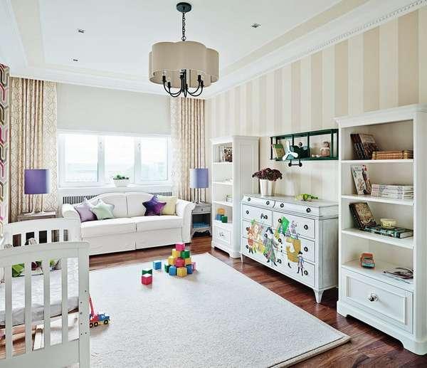 интерьер детской комнаты для мальчика 3 лет, фото 2