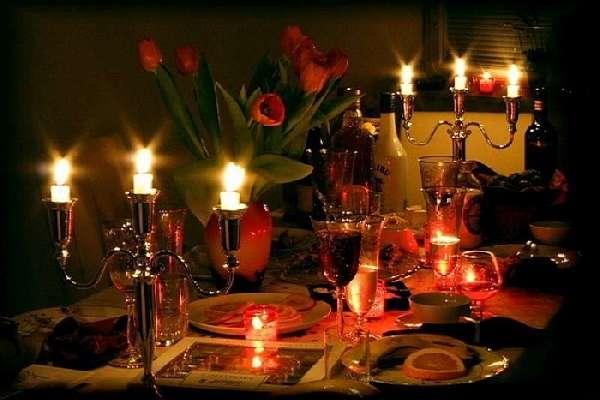 идеи декора для романтического вечера, фото 4
