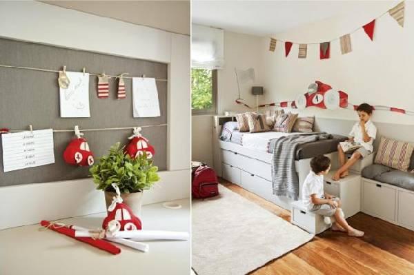 интерьер детской комнаты для двух мальчиков фото, фото 22