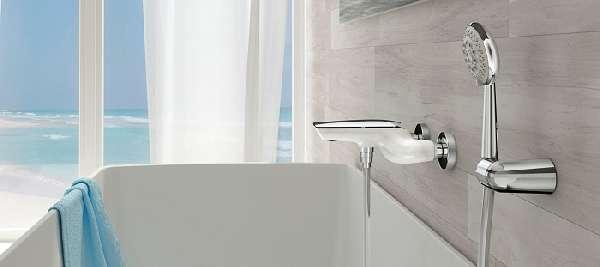 кран смеситель для ванны, фото 3