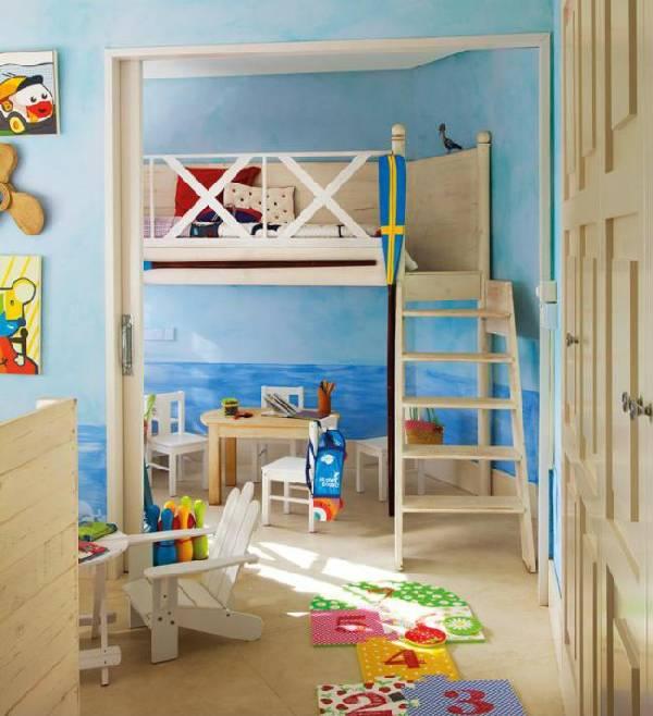 интерьер детской комнаты для двух мальчиков фото, фото 23