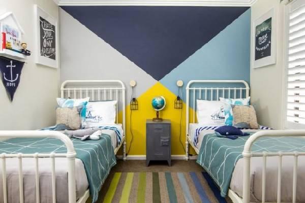 интерьер детской комнаты для разнополых детей, фото 24