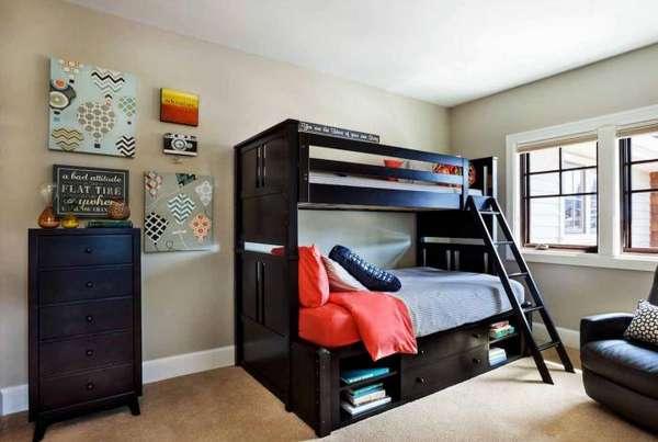 интерьер детской комнаты для 2 мальчиков, фото 24