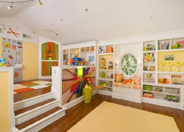 интерьеры детских комнат для двоих разнополых детей, фото 25