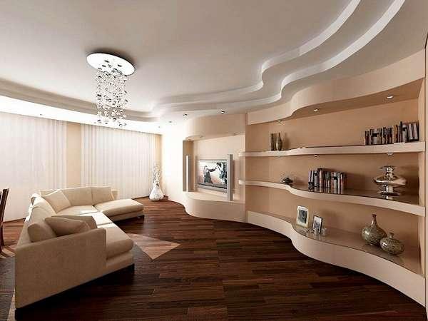 подвесные потолки из гипсокартона фото, фото 16