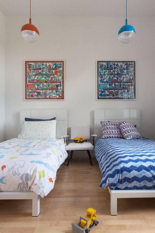 интерьер детской комнаты для разнополых, фото 26