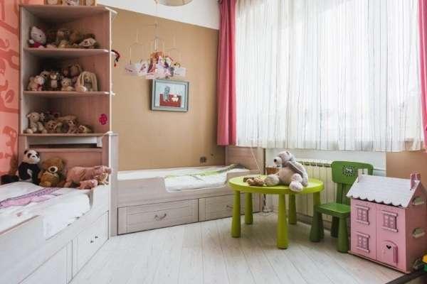 короткие шторы в детскую, фото 45