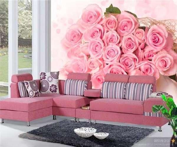 3д фотообои для стен цветы, фото 15