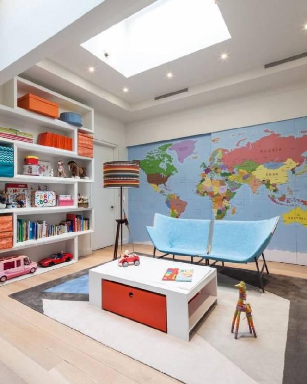 интерьер детской комнаты для разнополых, фото 29