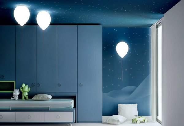 детские настенно потолочные светильники, фото 29