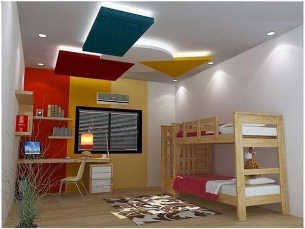 красивые потолки из гипсокартона, фото 34