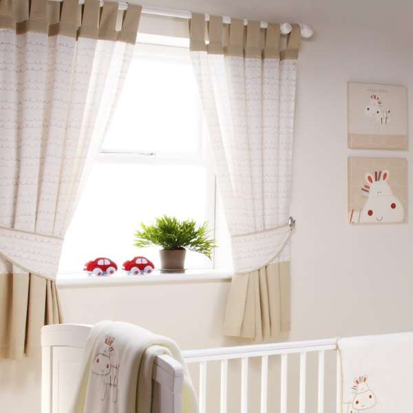короткие шторы в детскую, фото 49