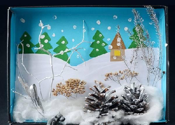 поделки на тему зима своими руками, фото 5