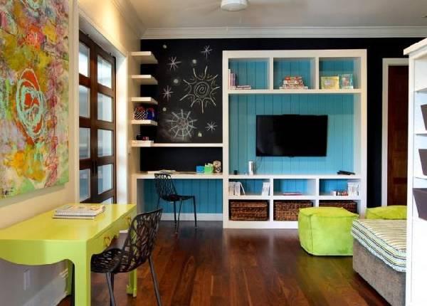 интерьер детской комнаты для разнополых, фото 32