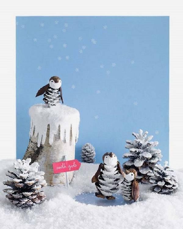 поделки на тему зима своими руками, фото 6