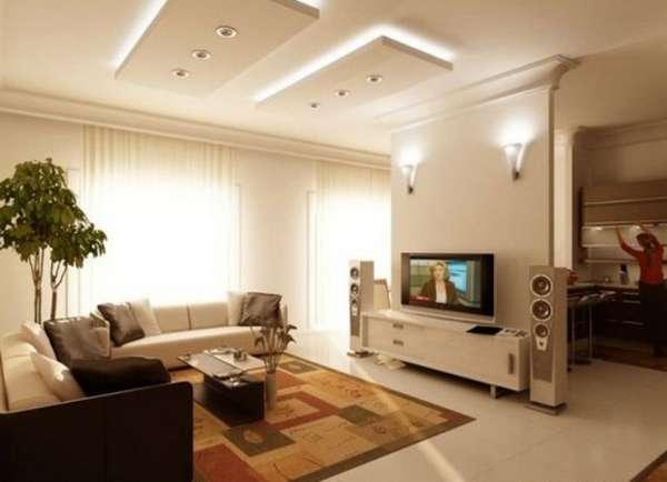 красивые потолки из гипсокартона фото, фото 36