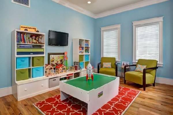 интерьер детской комнаты для разнополых детей, фото 33