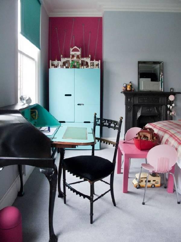 интерьеры детских комнат для двоих разнополых детей, фото 34