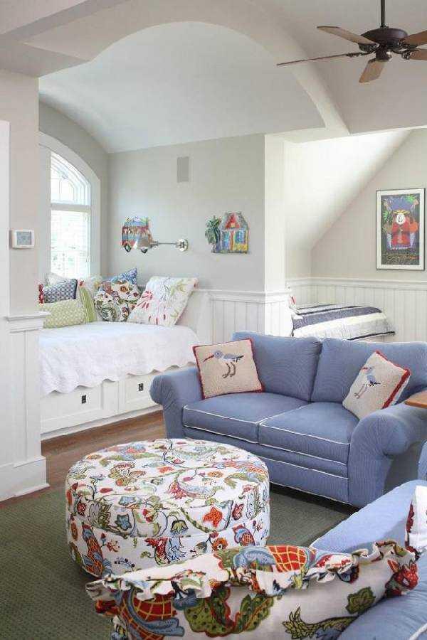 интерьер детской комнаты для разнополых, фото 35