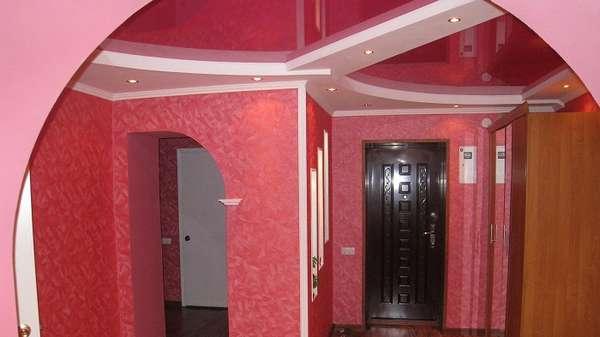 красивые потолки из гипсокартона, фото 41