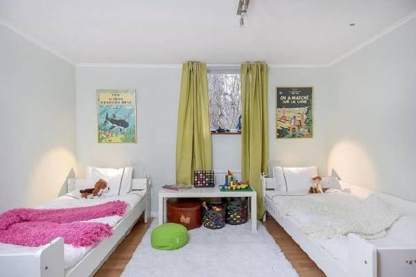 интерьер детской комнаты для разнополых детей, фото 36