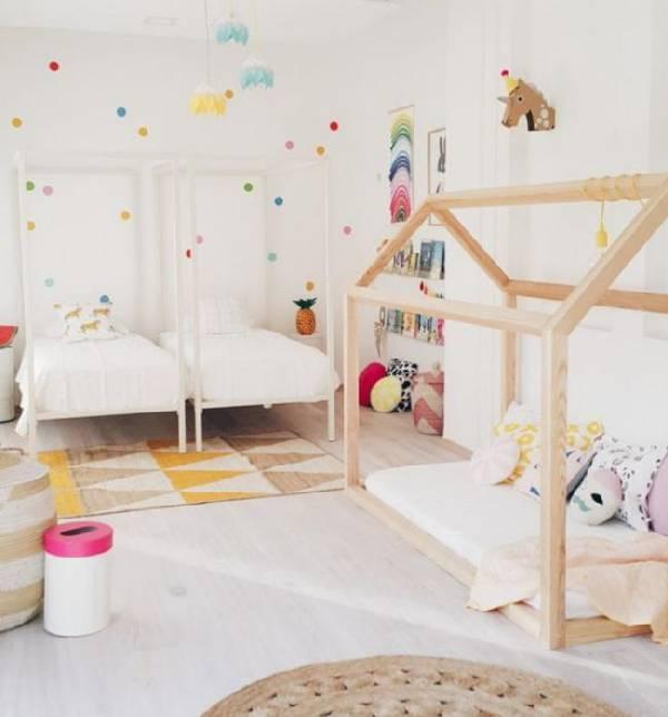 дизайн интерьера детской комнаты для двух девочек, фото 5