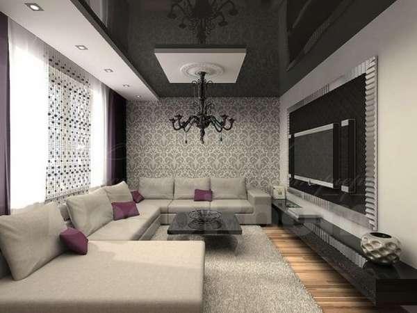 двухуровневые потолки из гипсокартона, фото 7