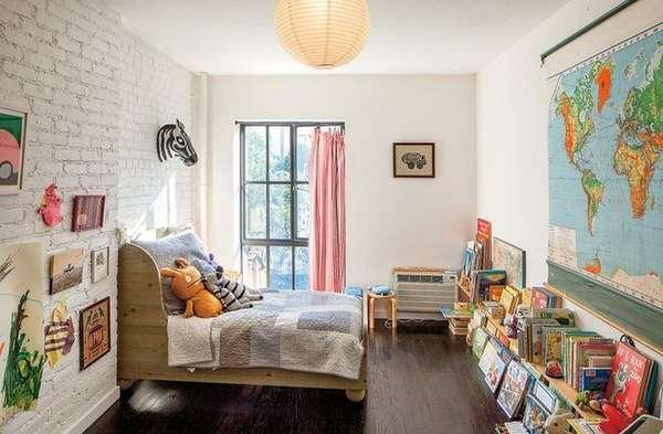 интерьер детской комнаты для мальчика 3 лет, фото 4