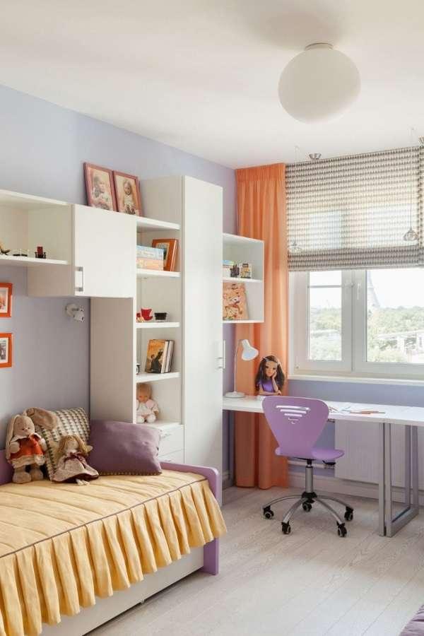 римские шторы в детскую для девочки, фото 26