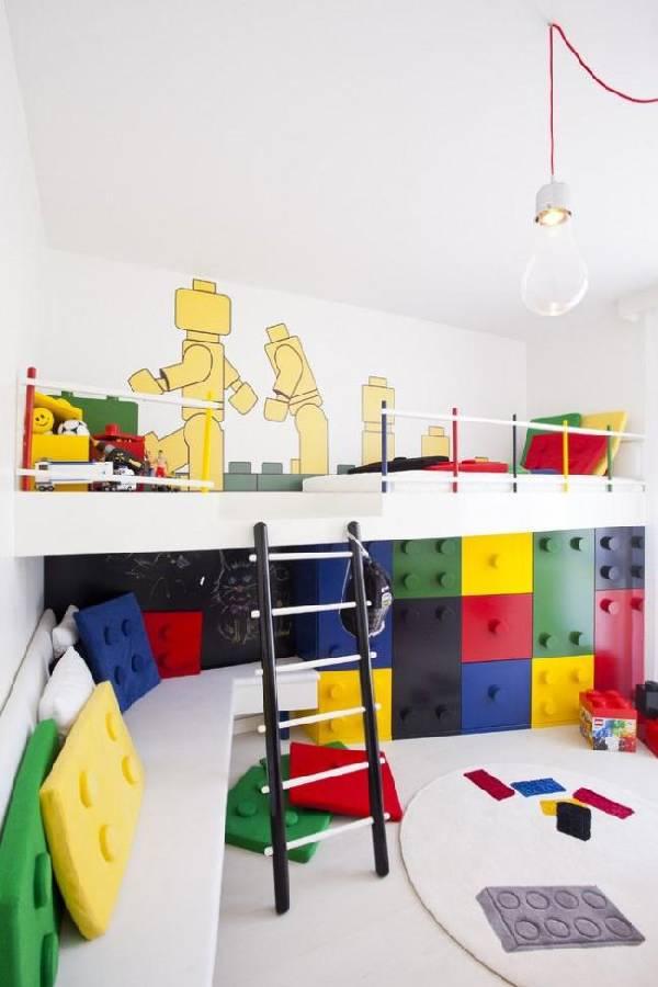 интерьер детской комнаты для разнополых, фото 41