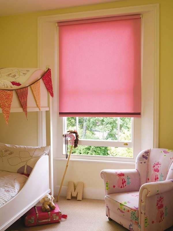 рулонные шторы в детскую комнату фото, фото 36