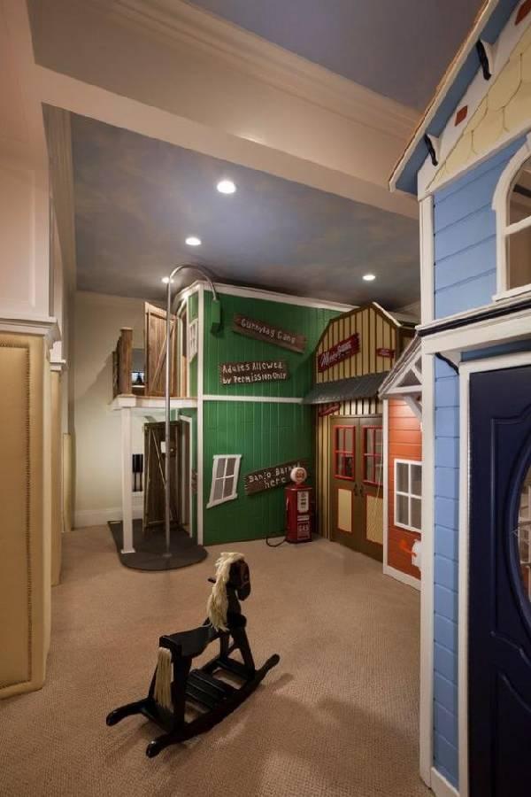 интерьер детской комнаты для разнополых детей, фото 45