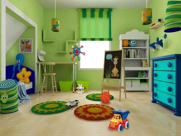 рулонные шторы в детскую комнату фото, фото 40