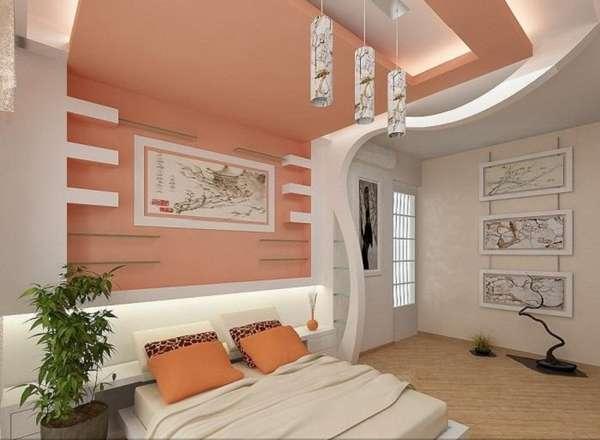 потолок из гипсокартона с подсветкой, фото 21
