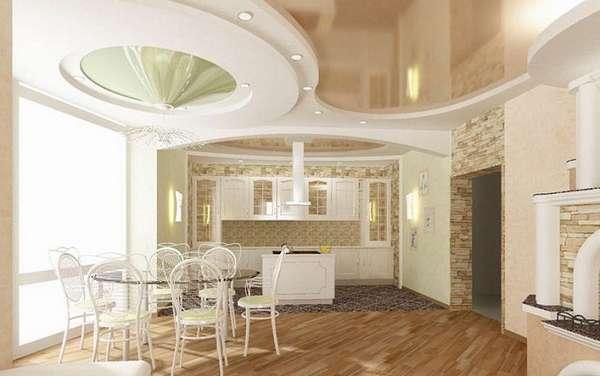 дизайн потолков из гипсокартона, фото 22