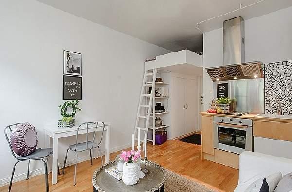 примеры зонирования однокомнатной квартиры фото, фото 62