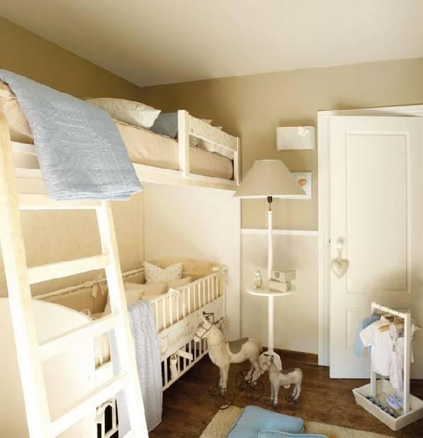 интерьер детской комнаты для 2 детей, фото 46