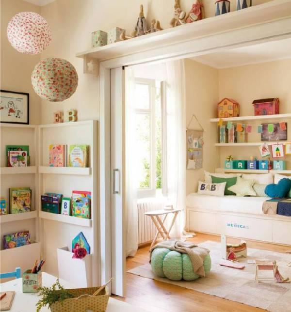 дизайн интерьера детской комнаты для двух девочек, фото 7
