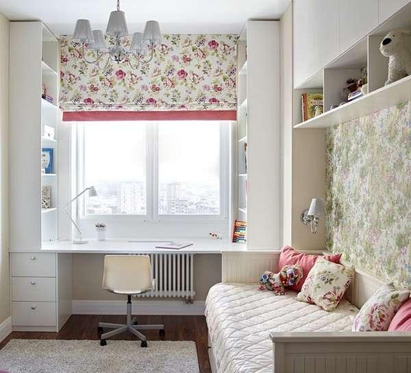 римские шторы в детскую для девочки, фото 28