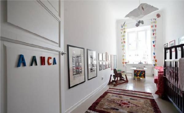 интерьер узкой детской комнаты для двоих детей, фото 69