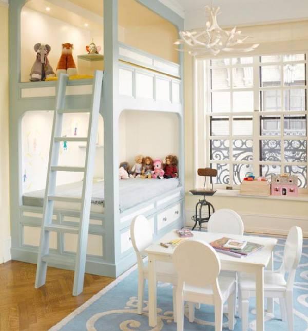 интерьер детской комнаты для двоих детей фото, фото 8