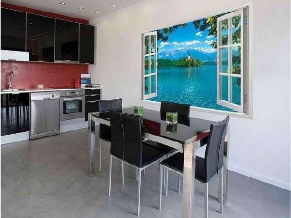 фотообои 3д для стен на кухню, фото 7