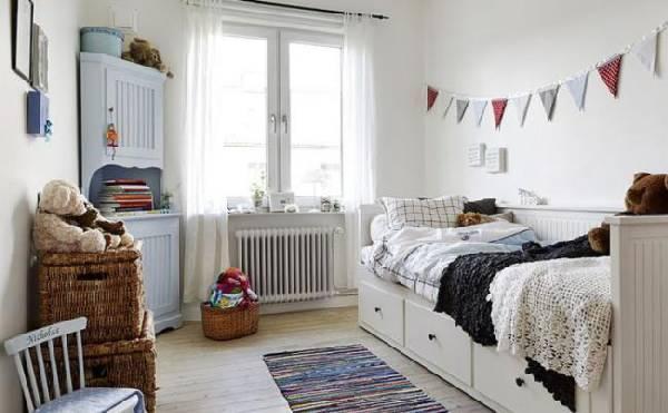 интерьер детской комнаты для двух детей фото, фото 73