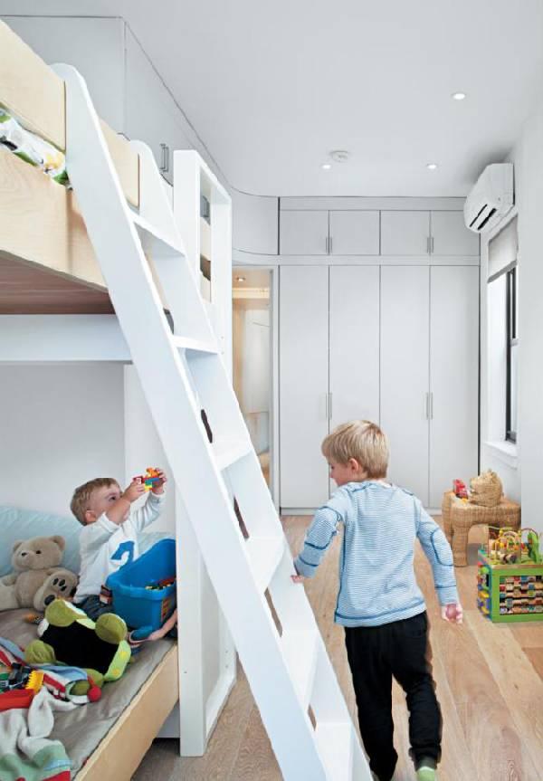 интерьер детской комнаты для двух детей фото, фото 74