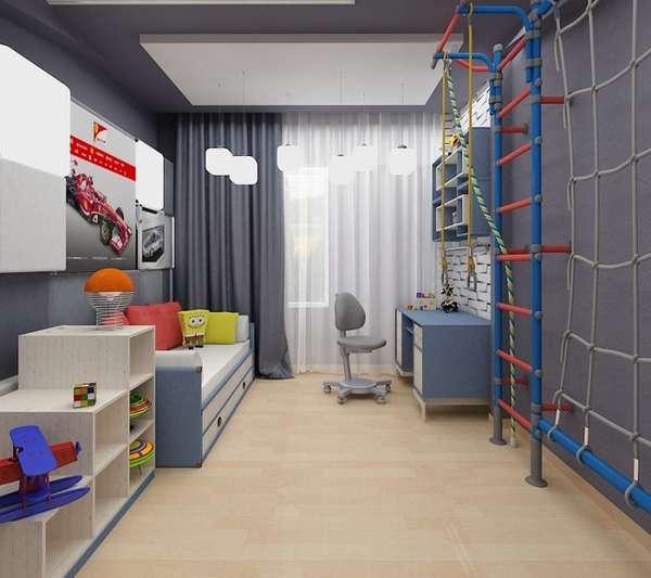 интерьер детской комнаты для мальчика, фото 8