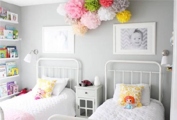 интерьер детской комнаты для двоих детей, фото 9
