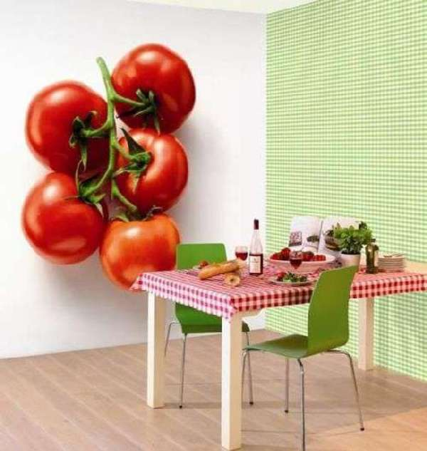 фотообои 3д для кухни, фото 9