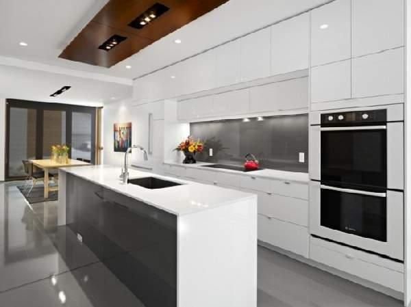 белый кухонный гарнитур, фото 15